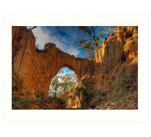Golden Gully Arch. Art Print