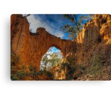 Golden Gully Arch. Canvas Print