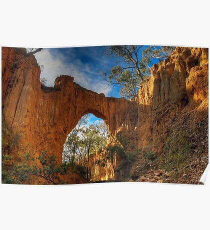 Golden Gully Arch. Poster