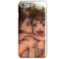 Taking selfie iPhone Case/Skin
