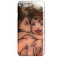 Taking selfie iPhone Case/Skin