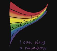 I can sing a rainbow One Piece - Long Sleeve