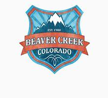 Beaver Creek Colorado teal grunge shield T-Shirt