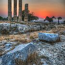 The Acropolis of Rhodes Town by Fraser Ross