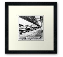 Newport Station Framed Print