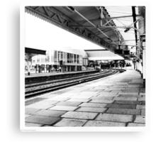 Newport Station Canvas Print