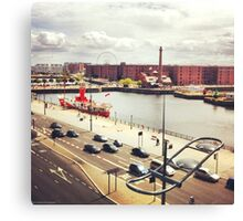 Albert Dock Canvas Print