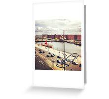 Albert Dock Greeting Card