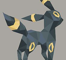 Origami Umbreon by Jemma Richmond