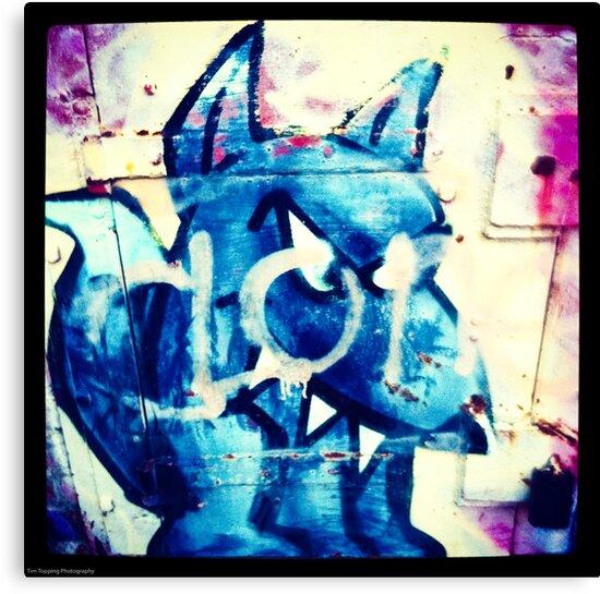 Graffiti Dog by Tim Topping