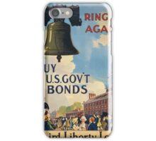 Ring it again Buy US Govt Bonds Third Liberty Loan 002 iPhone Case/Skin