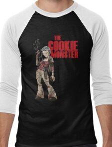 The Cookie Monster Men's Baseball ¾ T-Shirt