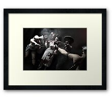 Zombies - the end of the humanity I Framed Print