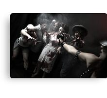 Zombies - the end of the humanity I Canvas Print