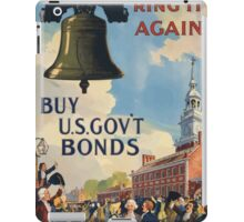 Ring it again Buy US Govt Bonds Third Liberty Loan 002 iPad Case/Skin