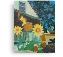 Green Street House Canvas Print
