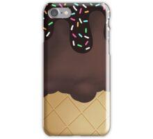 Chocolate Ice Cream sprinkles iPhone Case/Skin
