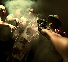 Zombies - the end of humanity III by ARTistCyberello