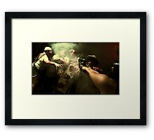 Zombies - the end of humanity III Framed Print