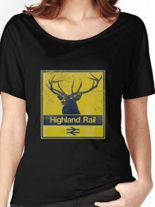 Highland Rail logo Women's Relaxed Fit T-Shirt
