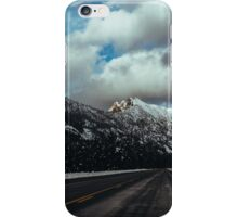 Driving in the North Cascades iPhone Case/Skin