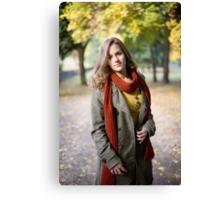 Autumn colors. Canvas Print