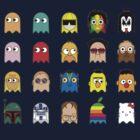 Pacman toonies by megpato