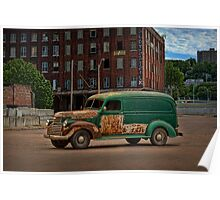 1946 GMC Panel Truck Poster