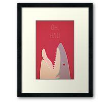 Sharky Framed Print