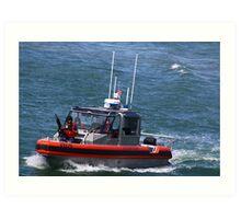 United States Coast Guard Art Print
