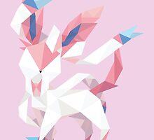 Origami Sylveon by Jemma Richmond
