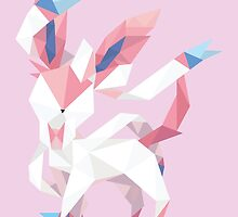 Origami Sylveon by Lisa Richmond