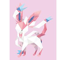 Origami Sylveon Photographic Print