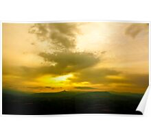 Newport County Sunset Poster