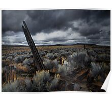 The Way It Was ~ Fort Rock ~ Poster