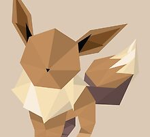 Origami Eevee by Lisa Richmond