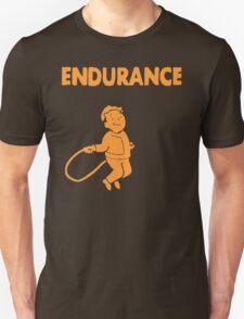 Fallout - S.P.E.C.I.A.L. Endurance orange T-Shirt