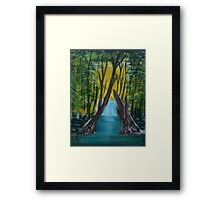 """Forest River""  by Carter L. Shepard Framed Print"