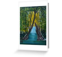"""Forest River""  by Carter L. Shepard Greeting Card"
