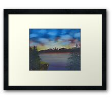 """Distant Redemption""  by Carter L. Shepard Framed Print"