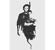 Supernatural sam/dean Photographic Print
