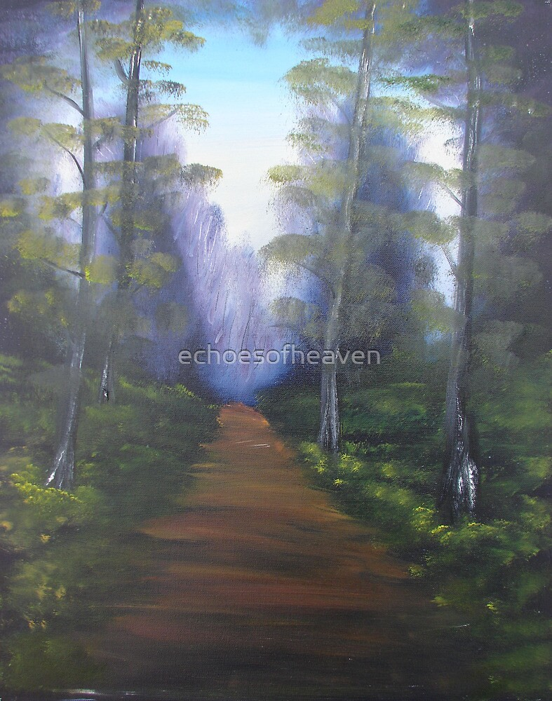 """Forest Path""  by Carter L. Shepard by echoesofheaven"