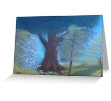 """Nature View""  by Carter L. Shepard Greeting Card"