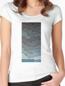 The Greyscale Collection no.3 Women's Fitted Scoop T-Shirt