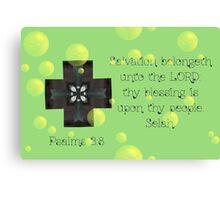 Salvation belongeth unto the Lord Canvas Print