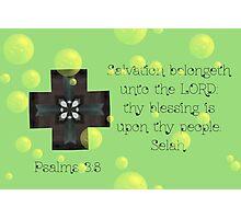 Salvation belongeth unto the Lord Photographic Print