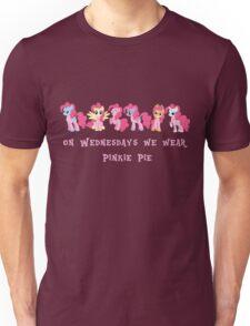On Wednesdays We Wear Pinkie Pie Unisex T-Shirt