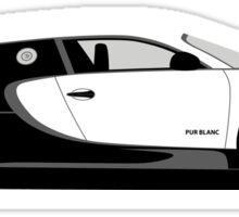 2012 Bugatti Veyron 16.4 Super Sport Pur Blanc Sticker