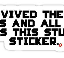 Stupid Sticker Sticker