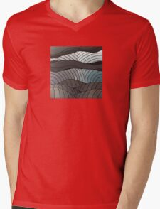 The Greyscale Collection no.4 Mens V-Neck T-Shirt